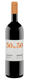 Вино красное сухое «50 & 50» 2011 г.