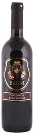 Вино красное полусухое «Bruni Sangiovese» 2014 г.