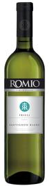 Вино белое полусухое «Romio Sauvignon Blanc» 2014 г.