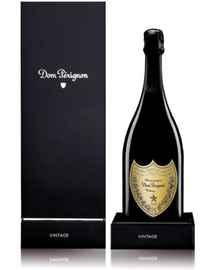 Вино игристое белое брют «Dom Perignon Vintage» 2002 г. в деревянной коробке