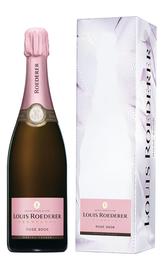 Шампанское розовое брют «Louis Roederer Brut Rose» 2010 г. в подарочной упаковке