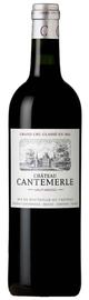 Вино красное сухое «Chateau Cantemerle» 2004 г.