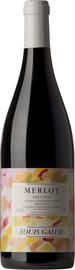 Вино красное полусладкое «Merlot Louis Galud Semi-sweet»