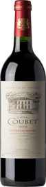 Вино красное сухое «Chateau Coubet» 2013 г.