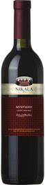 Вино красное сухое «Nikala 1862 Mukuzani» 2013 г.