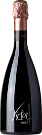 Вино игристое розовое брют «Victor Pinot Rose Brut Spumante»