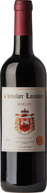 Вино красное сухое «Chevalier Lacassan Merlot» 2012 г.