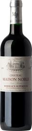 Вино красное сухое «Chateau Maison Noble Cuvee Saint-Martin Rouge» 2012 г.