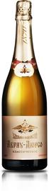 Российское шампанское белое полусладкое «Абрау-Дюрсо классическое» коллекционное