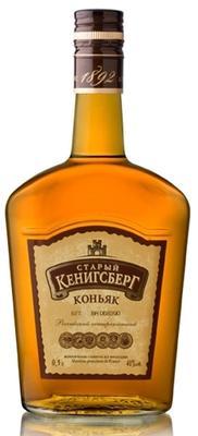 Коньяк российский «Старый Кенигсберг 4 лет выдержки, 0.375 л»