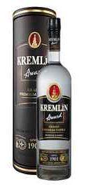 Водка «Kremlin Award» в кожаном тубусе