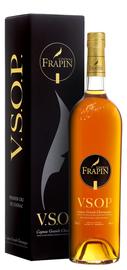 Коньяк французский «Frapin VSOP Grande Champagne, 1 л» в подарочной упаковке