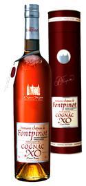 Коньяк французский «Frapin Domaine Chateau de Fontpinot XO Grande Champagne» в тубе