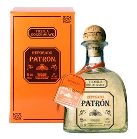 Текила «Patron Spirits Patron Reposado» в подарочной металлической упаковке