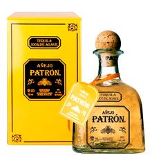 Текила «Patron Spirits Gran Patron Burdeos Anejo» в металлической подарочной упаковке