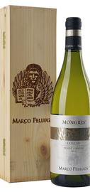 Вино белое сухое «Marco Felluga Collio Pinot Grigio Mongris» 2013 г., в деревянной подарочной упаковке