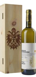 Вино белое сухое «Russiz Superiore Col Disore Collio Pinot Grigio» 2013 г., в деревянной подарочной упаковке