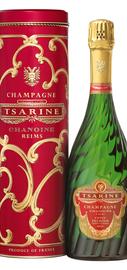 Шампанское белое брют «Tsarine Cuvee Premium Brut» в подарочной упаковке