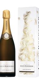 Шампанское белое полусухое «Louis Roederer Carte Blanche» в подарочной упаковке