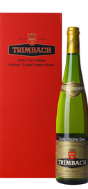 Вино белое полусухое «Trimbach Riesling Cuvee Frederic Emile» 1999 г., в подарочной упаковке