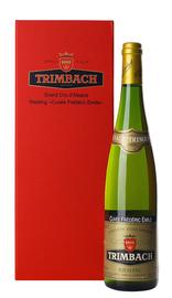 Вино белое полусухое «Trimbach Riesling Cuvee Frederic Emile» 2001 г, в подарочной упаковке