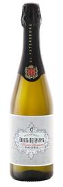 Российское шампанское белое полусухое «Санкт-Петербург Традиционное»