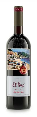 Вино столовое красное сухое «Эль Пасо Мерло»