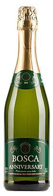 Винный напиток газированный белый полусухой «Bosca Anniversary, 0.75 л»