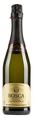 Винный напиток газированный белый полусладкий «Bosca Chardonnay»