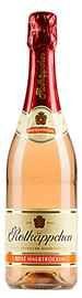 Вино игристое розовое полусухое «Rotkappchen»