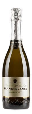 Вино игристое белое полусухое «Geisweiler Excellence Blanc de Blancs Demi-Sec»