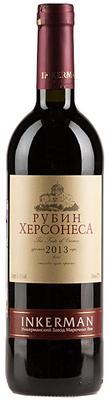 Вино столовое красное сухое  «Рубин Херсонеса»