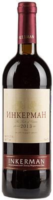 Вино столовое красное полусухое «Инкерман»
