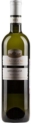 Вино белое сухое «Badagoni Цинандали»