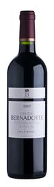 Вино красное сухое «Chateau Bernadotte» 2007 г. географического наименования регион Бордо