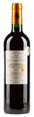 Вино красное сухое  «Chateau Haut-Mondain Bordeaux»