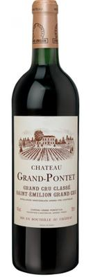 Вино красное сухое «Chateau Grand-Pontet Saint-Emilion Grand Cru» 2002 г.