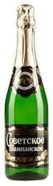 Российское шампанское белое брют «Советское»