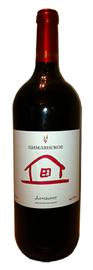 Вино красное сухое «Домашнее»