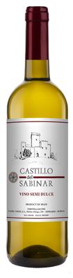 Вино столовое белое полусладкое «Castillo Del Sabinar»