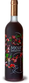 Вино столовое красное полусладкое «Мускат бархатный»