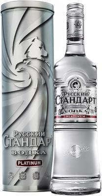 Водка «Русский Стандарт Платинум, 1 л» в подарочной упаковке
