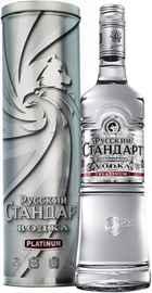 Водка «Русский Стандарт Платинум» в подарочной упаковке