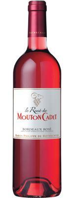 Вино розовое сухое «Baron Philippe de Rothschild Le Rose de Mouton Cadet, 0.75 л» 2014 г.