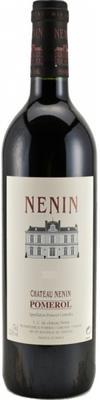 Вино красное сухое «Chateau Nenin Pomerol» 2011 г.