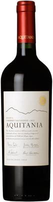 Вино красное сухое «Vina Aquitania Reserva» 2013 г.
