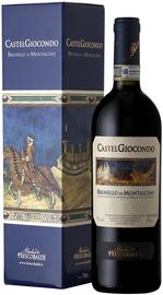 Вино красное сухое «Castelgiocondo Brunello di Montalcino» 2010 г. в подарочной упаковке