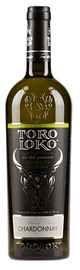 Вино столовое белое сухое «Toro Loko Chardonnay»