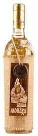 Вино столовое белое полусладкое «Душа Монаха» сувенирное