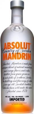 Настойка горькая «Absolut Mandarine»
